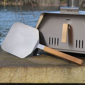 Fiesta pizza peel for outdoor oven