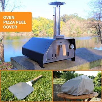 Outdoor pizza oven - Fiesta Kit - Black